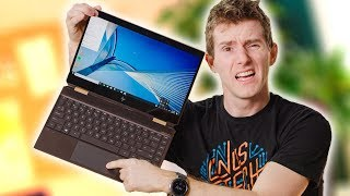 How Did HP Fail This Hard? - HP Spectre x360 2019 Review