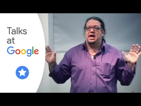 Authors@Google: Penn Jillette