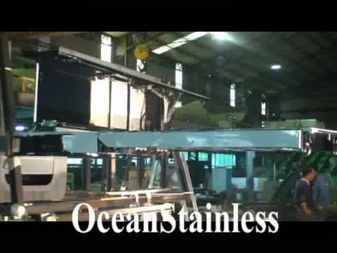 Ocean Stainless Auto Park Boarding Ladder