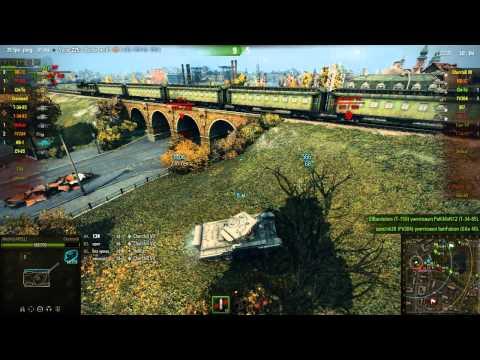 Первый бой на стоковом танке Cromwell (World of Tanks)