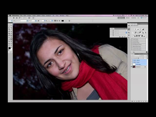 Photoshop Tuturial - Cartoon Yourself! (pt1 - lines)