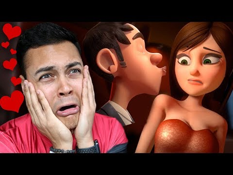 REACTING TO THE MOST ROMANTIC LOVE ANIMATIONS ON YOUTUBE (SO CUTE) streaming vf