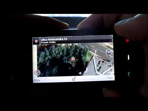 Nokia Mapy w Nokia 500. InfoNokia.pl