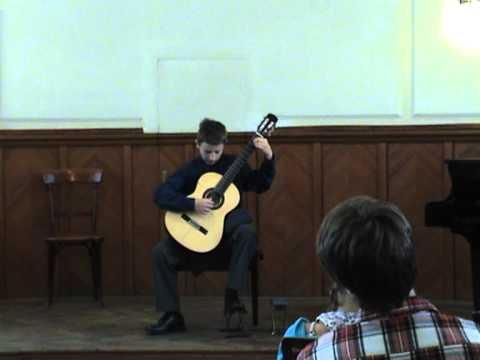 Zsombor Sidoo play Johann Kaspar Mertz - Fantasie Hongroise