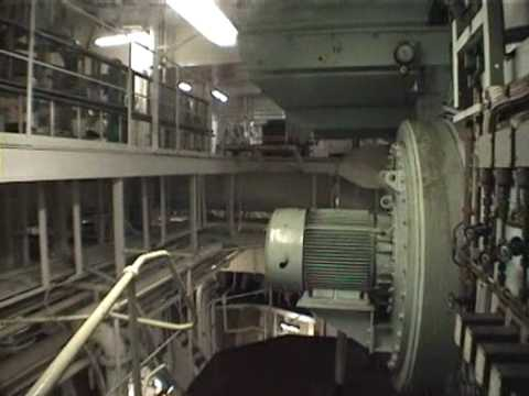 Supertanker Engine Room Tour