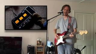 Zoom G3X looper demo: All Along the Watchtower (cover)