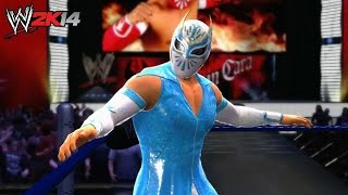 WWE 2K14 - Sin Cara Entrance and Finisher