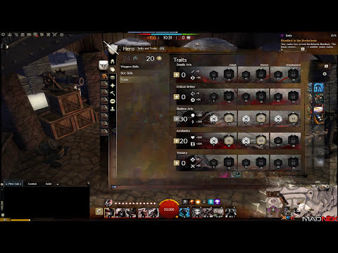 Guild Wars 2 - Condition Thief Builds: Madnek Syndrom & Poisoneer updates.