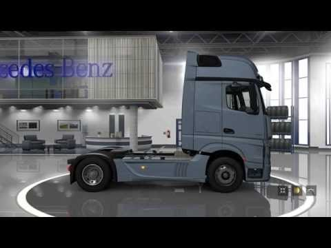 Mercedes-Benz New Actros review video