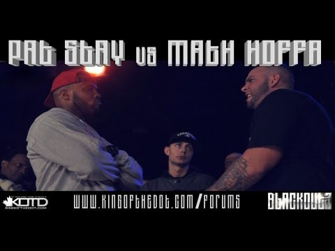 KOTD - Rap Battle - Pat Stay vs Math Hoffa *Co-Hosted by Drake & Maestro Fresh Wes*
