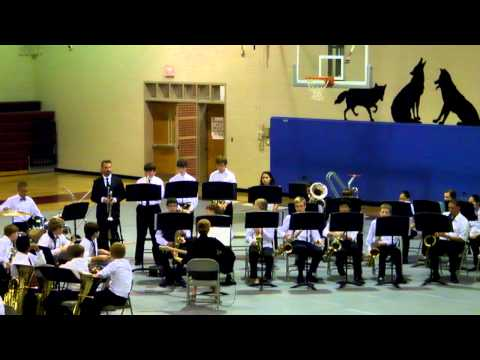 West Valley Middle School Jazz Band 2012 song 2