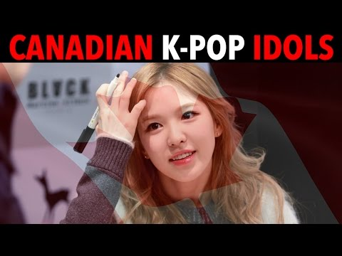 K-POP IDOLS WHO ARE ACTUALLY CANADIAN!