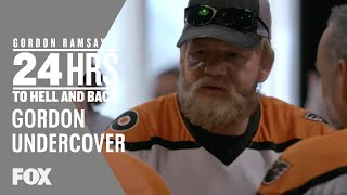 Gordon Goes Undercover As A Hockey Fan | Season 2 Ep. 2 | GORDON RAMSAY'S 24 HOURS TO HELL & BACK