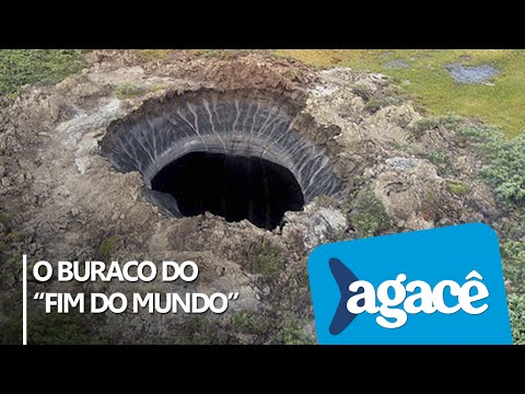 Buraco misterioso surge na Sibéria / Mysterious hole appears in Siberia