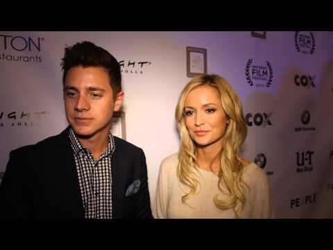 Bachelorette Emily Maynard & Jef Holm at San Diego Film Festival 2012