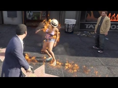 GTA V: Michael Kills His Family