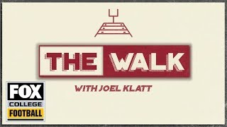The Walk with Joel Klatt: Ohio State at Indiana | FOX COLLEGE FOOTBALL