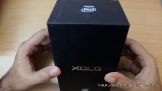 Lava Xolo Unboxing first Android phone with intel processor