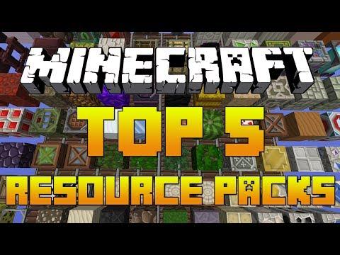Minecraft: TOP 5 Resource Packs 1.7.4 [Texture Packs + Download] 2014