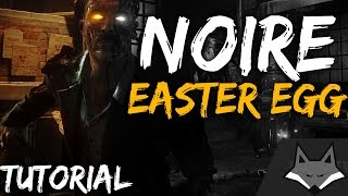 Black Ops 3 ZOMBIES EASTER EGG (Shadows of Evil)  - *NEW* NOIRE / BLACK & WHITE FILTER  EASTER EGG!