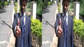 Real poping out 3d thumbs up must see
