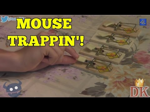 MOUSE TRAPPIN'!!! (DK Throwback)