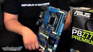 ASUS P8Z77-V Premium_ World's First Intel Certified Thunderbolt Motherboard (Hands-On First Look)