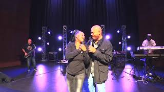 Regina Belle and Chris Walker in South Africa  Umhlathuze Sport Complex