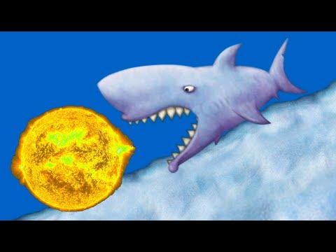Tasty Blue #11 ЗУБАСТАЯ АКУЛА СЪЕЛА ПЛАНЕТУ и другие приключение маленькой рыбки #КРУТИЛКИНЫ