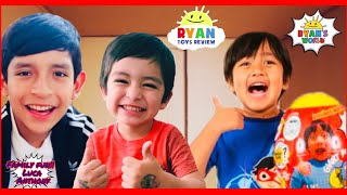 I MAILED MYSELF TO RYAN TOYS REVIEW  TO GET *NEW* RYAN'S WORLD TOYS AND IT WORKED!!