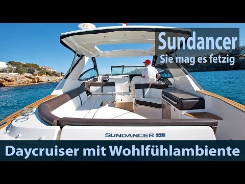Sea Ray Sundancer 320   Test   Fahrbericht