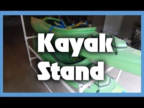 Build a PVC Kayak Stand