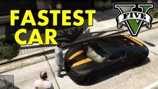 GTA V: How to Get the Fastest Car in the Game! (Bugatti Veyron [Adder])
