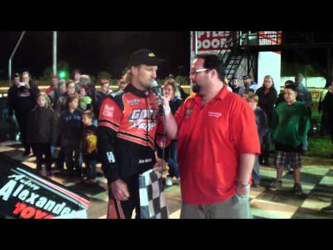Port Royal Speedway 410 Sprint Car Victory Lane 5-11-13