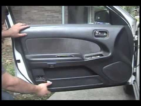 1995 1999 Nissan Maxima Front Door Panel Removal Youtube