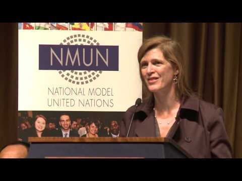 NMUN• NY 2014 Conference A Opening Ceremony Keynote Speaker: Samantha Power