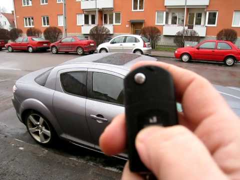 mazda fob. windows with Factory Fob