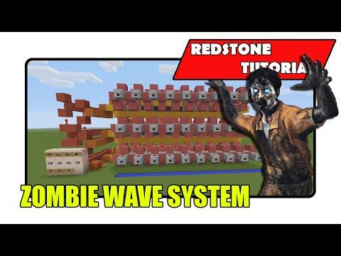 Zombie Wave System (Minecraft Xbox TU23/CU11/PlayStation CL1.15)