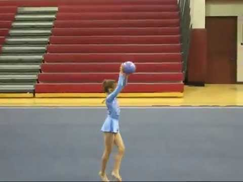 Rhythmic Gymnastics Ball - Level 4