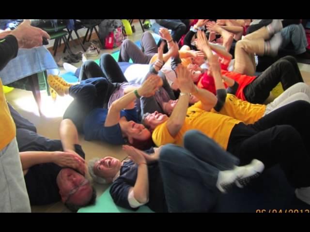 Immagini del Terzo Meeting dello Yoga della Risata