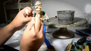 Como hacer un Zombie -Pasta Epoxy y Francesa (how make a Zombie figure)