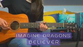 download lagu Imagine Dragons - Believer  Guitar Cover #152 With gratis