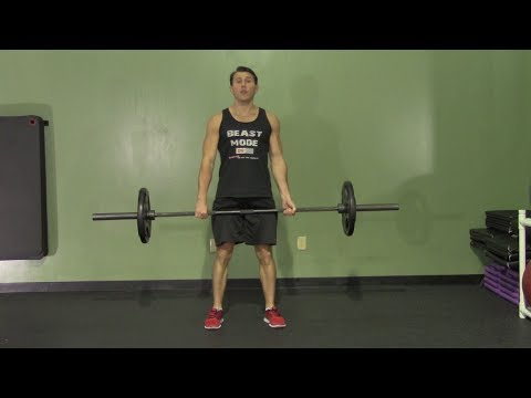 Max Effort Powerlifting Deadlift Workout - HASfit Powerlifting Workout - Deadlift Workouts Exercise Image 1