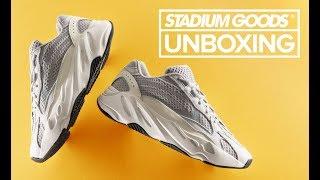 "adidas Yeezy Boost 700 v2 ""Static""   Stadium Goods Unboxing"