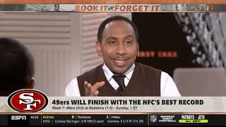 Stephen A.Smith: 49ers will finish with the NFC's best record
