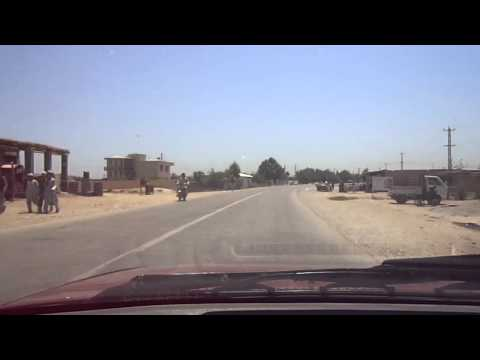 Driving from Tajik border to Kunduz, part 2 - Driving in Afghanistan