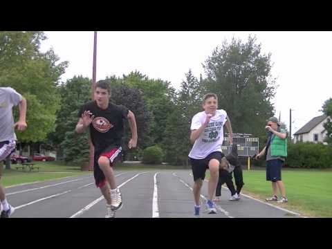 2012 Olympic Qualifying 100 Meter Dash (All Disqualified)