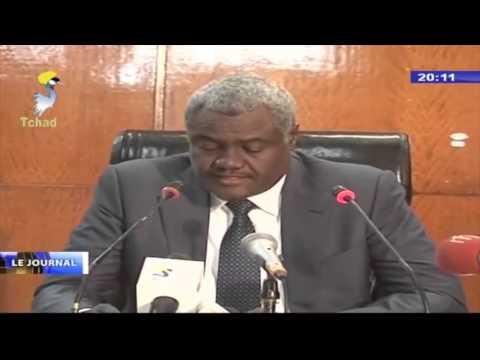 CONFERENCE DE PRESSE   S.E.M MOUSSA FAKI MAHAMAT