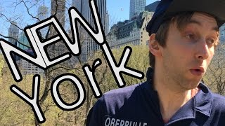 Ronny allein in New York !