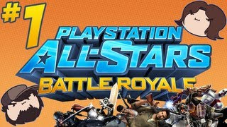 PlayStation All-Stars Battle Royale: Overtime - PART 1 - Game Grumps VS